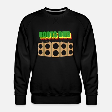 Sound System Roots Dub sound system - Men's Premium Sweatshirt