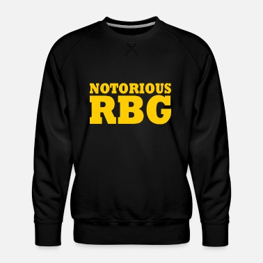 Peace Notorious rbg - Men's Premium Sweatshirt
