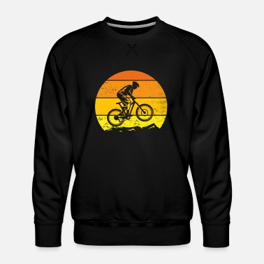 Teens MTB Bike original gift idea for cycling fan - Men's Premium Sweatshirt