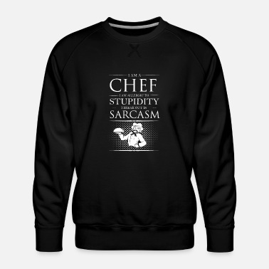 Chef Vetkeuken Chef - Mannen premium sweater