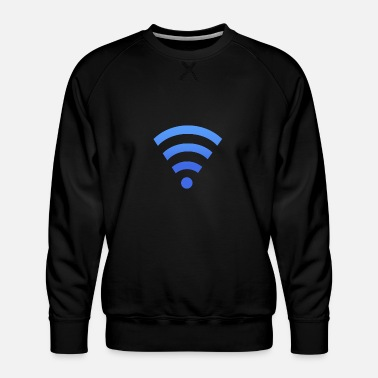 Wifi WIFI - Men's Premium Sweatshirt