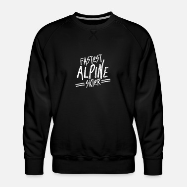 Alpine Skiing Alpine skiing - Men's Premium Sweatshirt