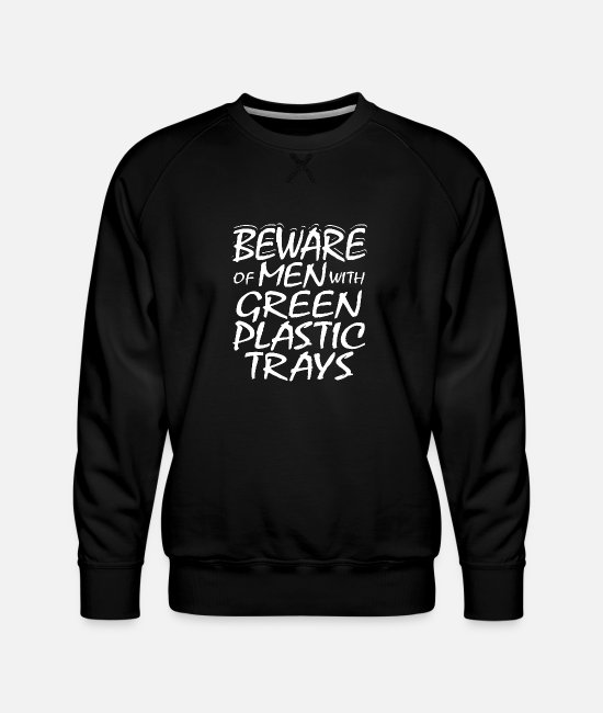 Chassé Sweat-shirts - Embarcation de brousse de survie Bushcraft - Sweat ras-du-cou Premium Homme noir