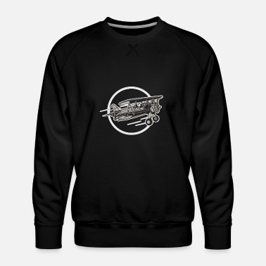 Airplane Airplane Airplane - Men's Premium Sweatshirt
