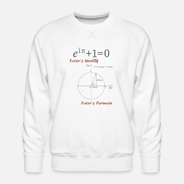 Mathematics Euler's formula Math School Gift - Men's Premium Sweatshirt