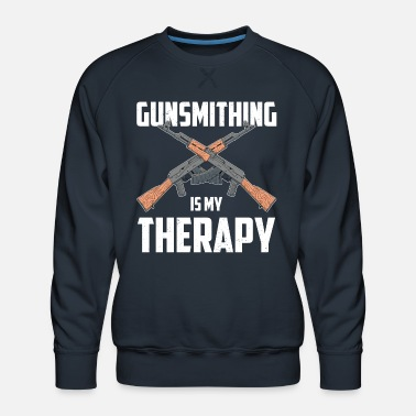 Gear My Therapy Gun Maker Gunsmith product - Men's Premium Sweatshirt