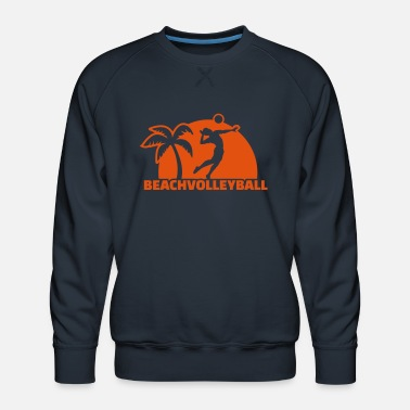 Beachvolleyball Beachvolleyball - Mannen premium sweater