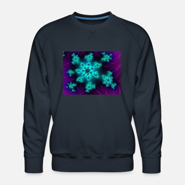 Fashionable Gloriously blue - Men's Premium Sweatshirt