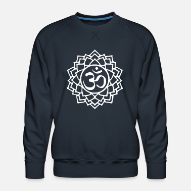 Buddhism Crown chakra - Men's Premium Sweatshirt