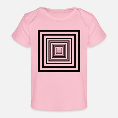 Rectangle rectangles - T-shirt bio Bébé