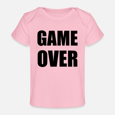 Game Over game over - T-shirt bio Bébé