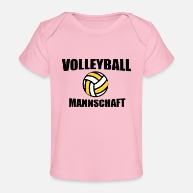 Team Volleyball team team - Organic Baby T-Shirt