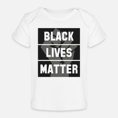 Black Lives Matter - Baby bio-T-shirt