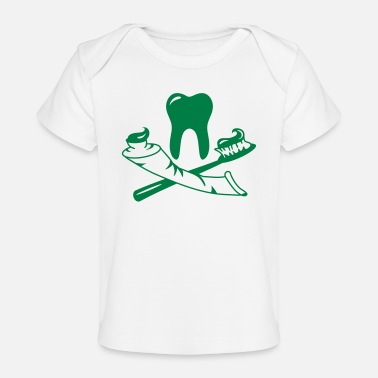 Dental Care Dental care - Organic Baby T-Shirt