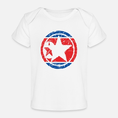 North roots love heart heart homet North Korea png - Organic Baby T-Shirt