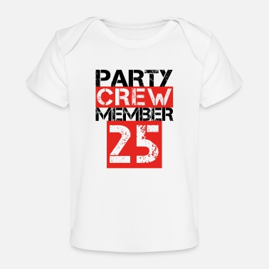 party member crew 01 malle mallorca team never 2 - Organic Baby T-Shirt