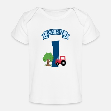 I am 1st birthday - Organic Baby T-Shirt
