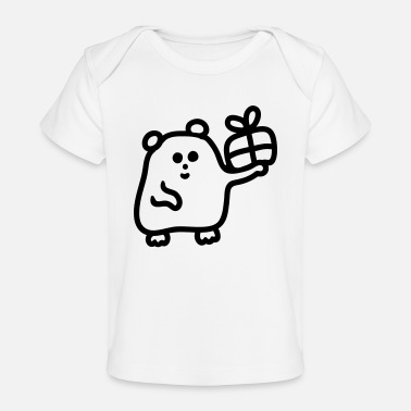 Happy birthday - Line - Baby bio-T-shirt