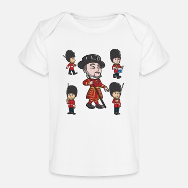 Guard Guards and Beefeater - Organic Baby T-Shirt