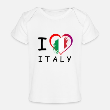 Italy Lovers Italy! Nice gift idea for Italy lovers - Organic Baby T-Shirt