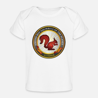 Squirrel SQUIRREL SEAL - Organic Baby T-Shirt