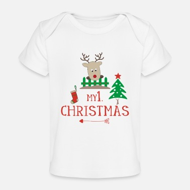 Christmas First Christmas - Baby Bio-T-Shirt