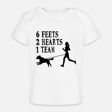 Canicross Hovawart jogging dog dog saying sport - Organic Baby T-Shirt
