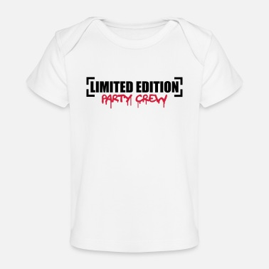 Party Limited Edition Party Crew Design - Baby bio-T-shirt