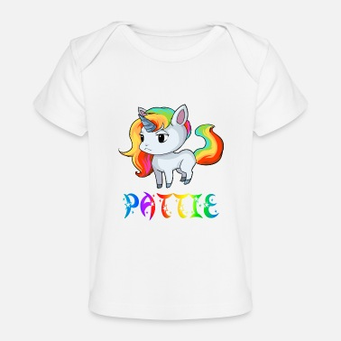 Patty Unicorn Pattie - Organic Baby T-Shirt