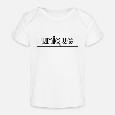 unique - Organic Baby T-Shirt