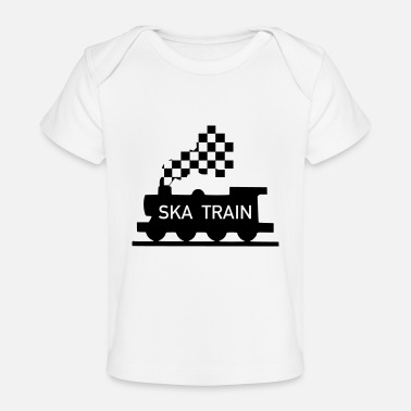 Ska ska train - Organic Baby T-Shirt