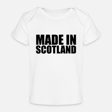 Scotland made in scotland 01 - Organic Baby T-Shirt