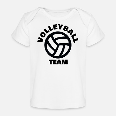 Volleybalteam VOLLEYBALTEAM - Baby bio-T-shirt
