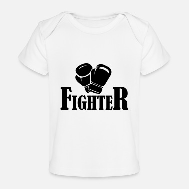 Fighter fighter - Baby Bio-T-Shirt