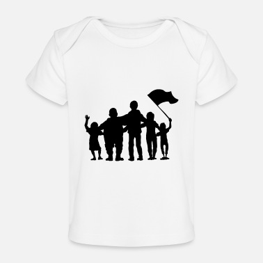 Fan fussballfans - fan - fans - Baby bio-T-shirt