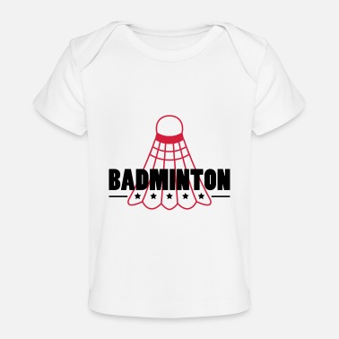 Icon Badminton Icon - Økologisk T-shirt til baby