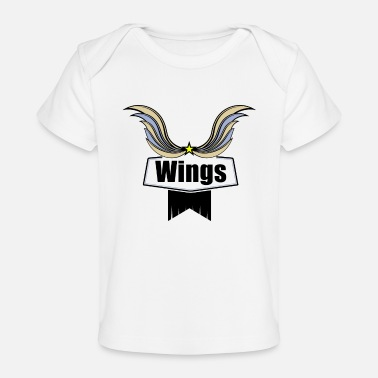 Wing Wings - Økologisk T-shirt til baby