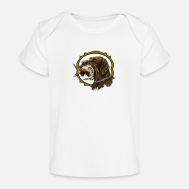 Gwp drahthaar_and_woodcock - Organic Baby T-Shirt