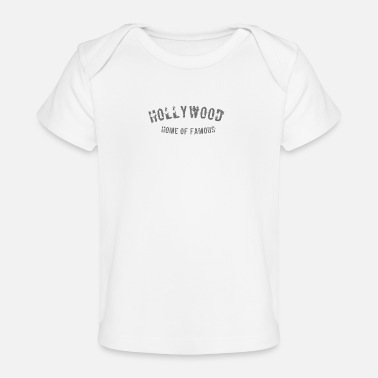 Hollywood Hollywood - Baby bio-T-shirt
