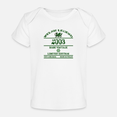 South A Welsh Legend 2003 - Organic Baby T-Shirt