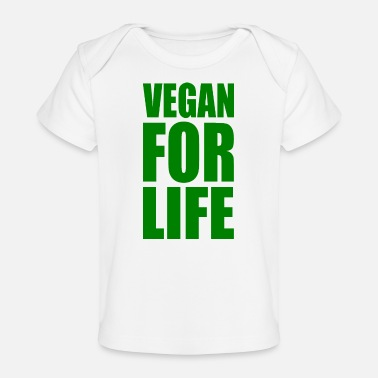 Uk VEGAN FOR LIVET - Økologisk T-shirt til baby