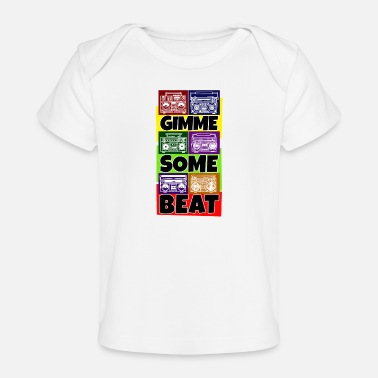 Dj Hip Hop Beat Deutschrap Breakdance DJ Graffiti MC - Baby bio-T-shirt