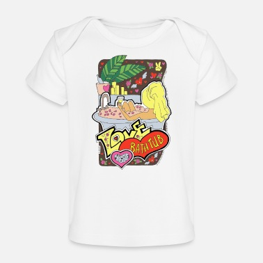 Kawaii Love myself. Relaxing time. MS 12 - Organic Baby T-Shirt