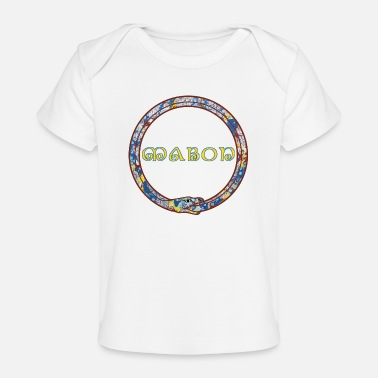 Performance celtic circle snake e 205 with mabon - Organic Baby T-Shirt
