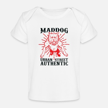 Rudern Maddog urban street authentic - Baby Bio-T-Shirt
