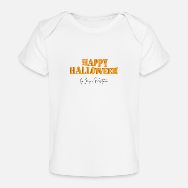 Rijkdom Inspi Positive Happy Halloween - Baby bio-T-shirt