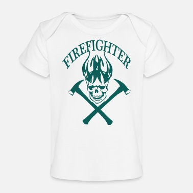 Fire Fighter fire fighter - Organic Baby T-Shirt