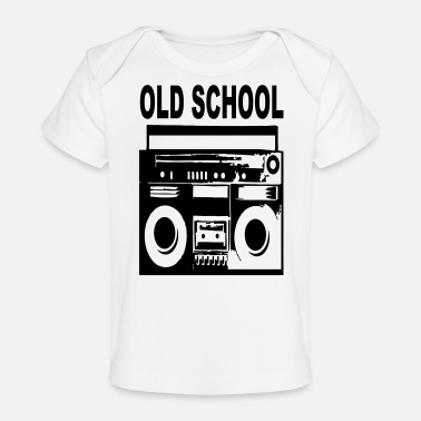 Old School old school - Baby Bio-T-Shirt