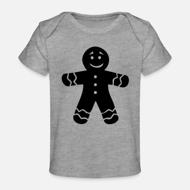 Gingerbread Gingerbread - Organic Baby T-Shirt
