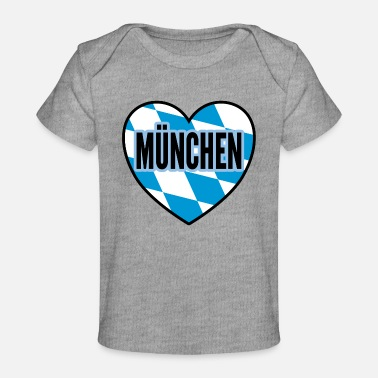 Munich city gift - Organic Baby T-Shirt